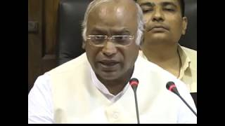 Highlights: Mallikarjun Kharge addresses the media on SC/ST Act