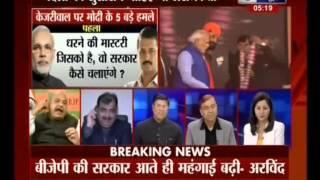 PM Modi Sets Development & Good Governance Agenda for Delhi! (India News,10-Jan-15)-MK