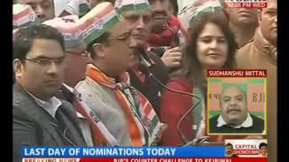 Battle of Delhi Polls-2015: Three CM Aspirants to File Nomination Today( HT,21-Jan-15)-MK