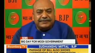 Sudhanshu Mittal: Passing of Bills Is A Victory of Democracy,Shows Govt's Commitment to Reforms.