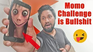 Stay Away from SUICIDE MOMO CHALLENGE - मोमो व्हाट्सप्प चैलेंज है मौत का खेल | video by Baklol Bunny