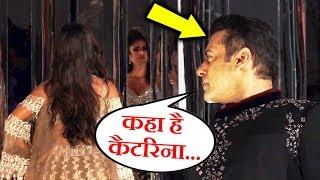 Salman Khan Searching For Katrina Kaif During Ramp Walk CUTE MOMENT