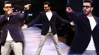 Ranveer Nailed It ! | Ranveer Singh CRAZIEST Ramp Walk | Jack & Jones