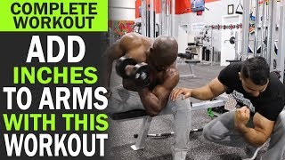 Add inches to your ARMS with this WORKOUT! (Hindi / Punjabi)