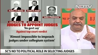 SC verdict about judge's appointment by Collegium System is an assault on sovereignty of parliament.