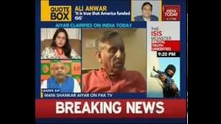 Mani Shankar Aiyar's statement is anti-national.