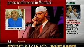 Jakir Naik is promoting communal disharmony & encouraging terrorism.