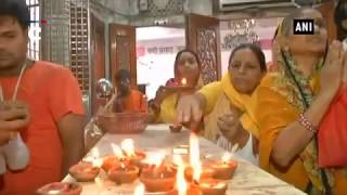 Devotees offer prayer on the occasion of Shivaratri