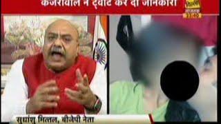 मंत्री  के दुराचरण के बावजूद पार्टी से निष्कासित ना करना केजरीवाल जी के दोहरे चरित्र को दर्शाता है!