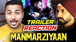 Manmarziyaan Trailer | REVIEW | REACTION | Abhishek Bachchan, Taapsee Pannu, Vicky Kaushal