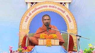 Vachanamrut Vivechan Katha At Satsang Chhavani Sardhar 2017 Day 7