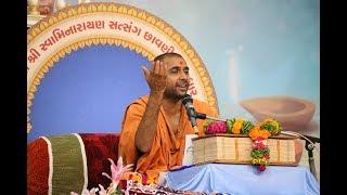Shree Hari VIcharan Katha At Sardhar Chhavani 2017 Day 7 AM ( સત્સંગ છાવણી ૨૦૧૭ - સરધાર)