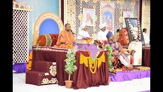 Pujya Lalji maharaj At Satsang Chhavani Sardhar 2017
