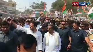 rahul gandhi road show
