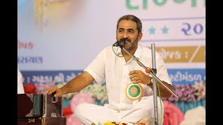 Dr. Jagdish Trivedi @ Ratnakar Sanman Samaroh Bhavnagar 2018
