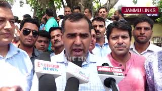SSA teachers hold protest, demand implementation of 7th Pay Commission