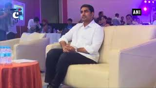 Andhra Pradesh: AP IT Minister Nara Lokesh attends Technology Sabha programme
