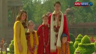 Canadian PM Justin Trudeau visits Akshardham Temple
