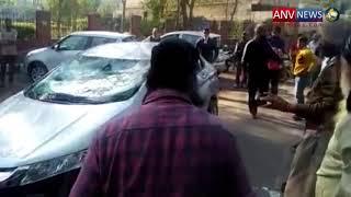 लुधियाना में 2 कारें आपस में टकराईं, मजदूर की हुई मौत
