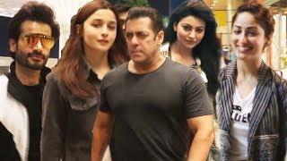 Salman Khan, Alia Bhatt, Urvashi Rautela, Karan Tacker SPOTTED AT AIRPORT