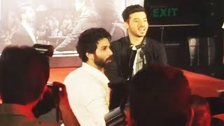 Charismatic Shahid Kapoor Smiles At Media | Batti Gul Meter Chalu Trailer Launch