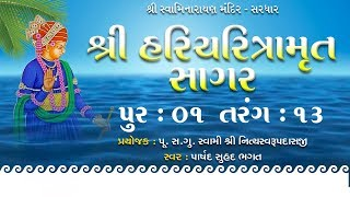 Haricharitramrut Sagar Katha Audio Book Pur 1 Tarang 13
