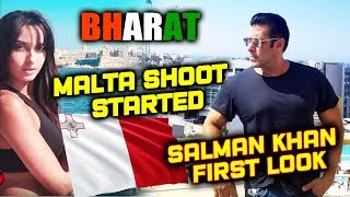 Salman Khan BEGINS BHARAT SHOOT In Malta | FIRST LOOK | Nora Fatehi
