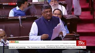 Sh R S Prasad's reply on Commercial Courts, Division & Appellate Division of HCs (Amnd) Bill, 2018
