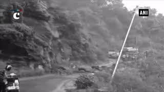 Himachal Pradesh's Bilaspur witnesses landslide