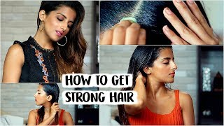 8 Habits You MUST KNOW For Strong, Healthy, Shiny, Silky Hair Naturally While Hair Oiling At Home