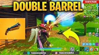 *NEW* DOUBLE BARREL SHOTGUN IN FORTNITE SEASON 5 - BEST SHOTGUN AND BARREL PUMP SHOTGUN GAMEPLAY