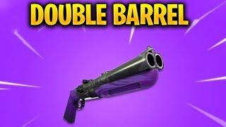 *NEW* DOUBLE BARREL SHOTGUN 150 +  HIGH DAMAGE INPUT SHOTGUN GAMEPLAY IN FORTNITE SEASON 5