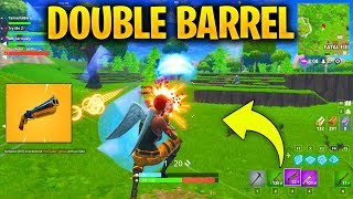 HOW TO WIN ALL GAMES in STEADY STORM *NEW GAMEMODE* Using the Double Barrel Shotgun in FORTNITE