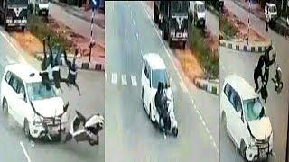 Itna Khatarnak Sadak Hadsa Apne Nahi Dheka Honga | At Nalgonda Road | @ SACH NEWS |