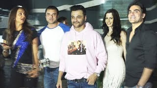 Sanjay Kapoor House Party | Arbaaz Khan And His Girlfriend, Sohail Khan With Wife