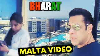 Salman Khan Exclusive Live Video From MALTA | BHARAT Shooting