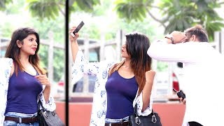 Selfie Prank On Cute GIRLS | Pranks in India 2018 | Unglibaaz