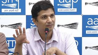 AAP Chief Spokesperson Saurabh Bhardawaj revealed CBI - Delhi Bureaucracy Nexus