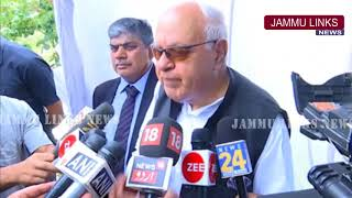 Situation would be difficult to control if Article 35-A tinkered with: Farooq Abdullah