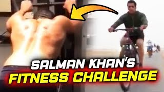 Salman Khan ACCEPTS Hum Fit Toh India Fit Challenge, Salman's Muscled Body Will SHOCK YOU