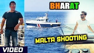 Salman Khan's BHARAT Malta Shooting LIVE VIDEO | Ali Abbas Zafar