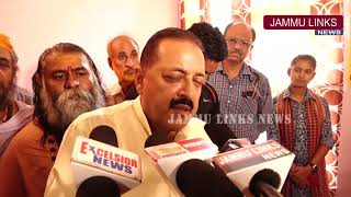 Cong, NC misleading people of Jammu over Article 35A: Jitendra Singh