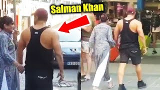 Salman Khan Helping Mother Cross Road In Malta Will Melt Your Heart
