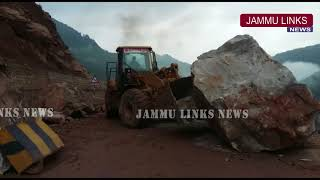 National Highway reopened in Udhampur after landslide