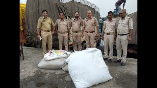 190 kgs of poppy husk seized in Lakhanpur