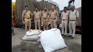 190 kgs of poppy husk seized in Lakhanpur