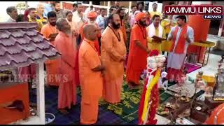 'Chhari Mubarak' taken to ancient Sharika-Bhawani temple