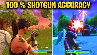 How to Land all your Shotgun Shots in Fortnite - BEST Shotgun Tips and Tricks Tutorial