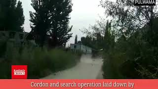 #Breaking News Cordon and search operation laid down by  goverment forces at Sirnoo in Pulwama