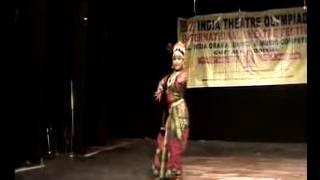 kuchipudi dance  '''mudugare yashoda'' by  Preethi Ghadei